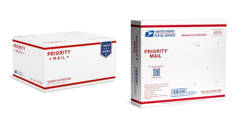 USPS Priority Mail Flat Rate Medium Boxes