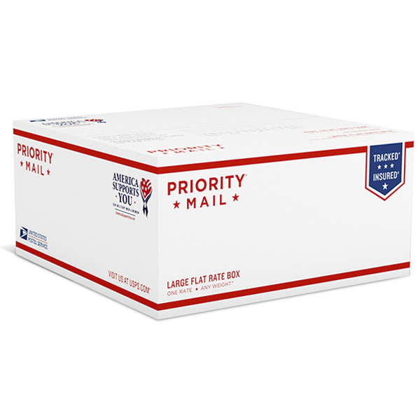 USPS Priority Mail APO/FPO Large Flat Rate Box