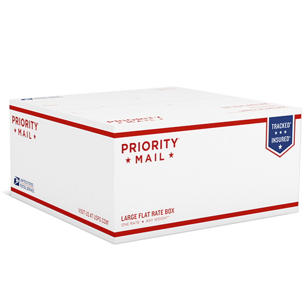 USPS Priority Mail Large Flat Rate Box