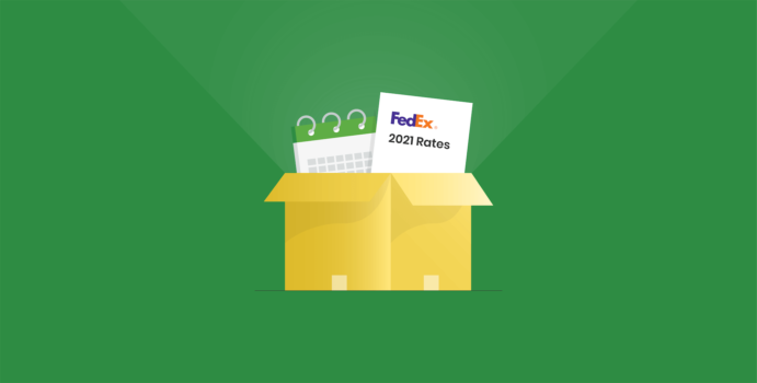 2021 FedEx Shipping Rate Changes